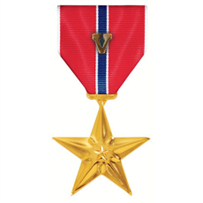 Bronze Star with Valor
