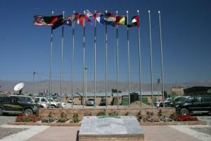 Memorial en Bagram